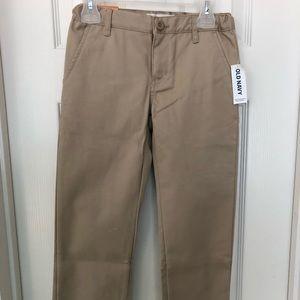Old Navy boys khaki pants size 7